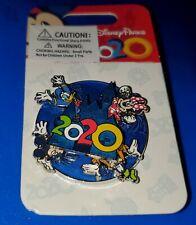 Disney Pin 2020 Spinner Castle Mickey ~ Minnie ~ Goofy ~ Donald Free Shipping