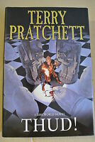 Book. Thud! by Terry Pratchett (Hardback, 2005). First Edition  HBDJ.  Doubleday