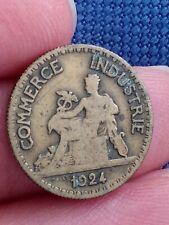 COIN / FRANCE / 50 CENTIMES  1924  CHAMBERS DE COMMERCE  Kayihan coins