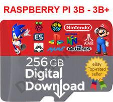 RETROPIE/RECALBOX RASPBERRY 256 GB MULTI LANGUAGE DIGITAL IMAGE READY & WORKING