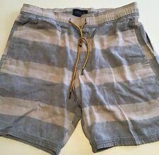 Men's Valor Collective Cotton Striped Shorts Size M
