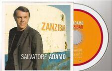 SALVATORE ADAMO zanzibar CD PROMO