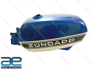 For Zundapp KS 50 Cross 517-52 Blue & White Painted Petrol Fuel Tank 1975 ECs