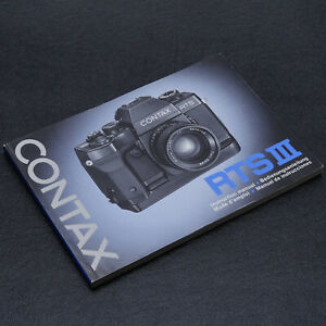 Contax RTS III Instruction Manual