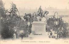 CARTAGENA, COLOMBIA ~ SIMON BOLIVAR STATUE & SURROUNDINGS ~ c. 1902