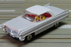 Faller AMS --  Cadillac Coupe mit Flachankermotor, 60er Jahre Spielzeug (DEZ431)