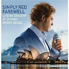 """SIMPLY RED """"FAREWELL - LIVE AT SYDNEY OPERA"""" CD+DVD NEW"""