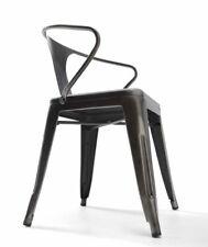 SILLA TASCA diseño retro estructura metálica.Vanguardia y calidad en tu hogar