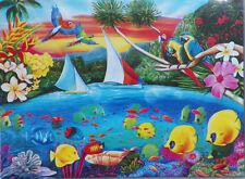 PUZZLE...JIGSAW....ART....RICHARDSON....Secret Lagoon...500 Pc...Sealed