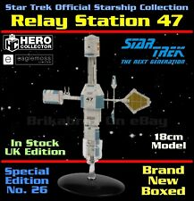 More details for star trek official starship collection: relay station 47 model - special edition