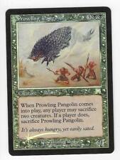 Magic the Gathering Mtg Onslaught Prowling Pangolin Foil Card Euc a