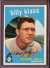 1959 Topps 299 Billy Klaus EX-MT #D106221