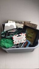 Lot 7 Gold Journal, Pouch, Luggage Tags, Frame, Bank, Travel Case Birthday, Gift