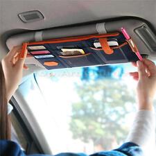 Car Sun Visor Organizer Organiser Storage Wallet Card Pen Mobile Pocket Pouch