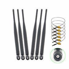 6x6dBi wifi Antenna+6 12in U.FL Cable for Netgear WNDR4000 WNDR3700 v.2 WNDR3800