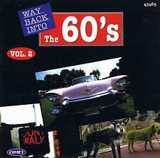 WAY BACK INTO THE 60´s Vol. 2 Top Oldies! CD 16 Tracks NIP
