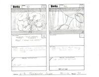 Star Wars Ewoks Original Production Storyboard Lucasfilm Nelvana 1985-6 p41