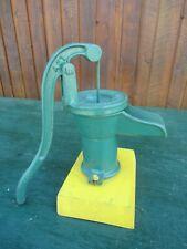 "Vintage Cast Iron Hand Pitcher WATER PUMP Measures 12"" High MCDOUGALL GALT"