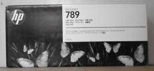 """HP 789 Encre light cyan ch619a POUR TRACEUR DESIGNJET l25500 (42"""") (60"""") 2013 NEUF dans sa boîte B"""