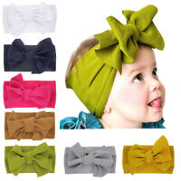 Kids Hair Bow For Baby Girls Headband Newborn Children Toddler Elastic Hairba I2