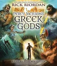 Percy Jackson's Greek Gods by Rick Riordan (CD-Audio, 2014)