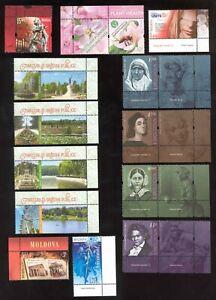 Moldova 2020 Complete Year Set  21v** + 3 s/s** MNH + 8 labels+ Booklet Rar!!!