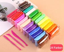 12 24 Farben Soft air dry ultra light clay lufttrocknender ton Modelliermasse