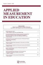 Setting Consensus Goals for Academic Achievement : A Special Issue of Applied...