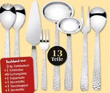 3x Haushaltshelfer Set 13 tlg. Küchenhelfer Kuchengabel Salatbesteck Tortenheber
