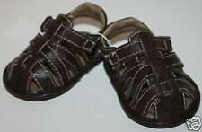 Koala Baby Boys Cute Brown Infant Sandals Shoes Size 0 NWT