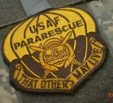 COMBAT PARARESCUE RESCUE PEDRO PJ burdock-vêlkrö PATCH: That So Others May Live