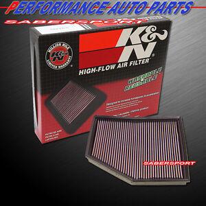 K&N 33-2294 Hi-Flow Air Intake Drop in Filter for 04-10 BMW 545I 550I 650I 645Ci