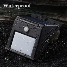 6 LED Solar Wall Lights Outdoor Motion Sensor Spotlight Lighting Garden Porch