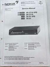 VR 3719, TR91 original NOKIA / GRAETZ Service Manual Schaltbid,