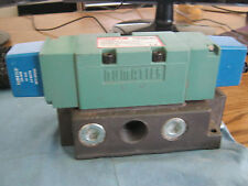 Numatics Model: 555BB531MU19M61 Solenoid Pilot Valve.  New Old Stock <