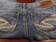 """Silver """"Berkley"""" Women's Jeans Distressed W27/L34"""