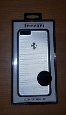 BNIB Ferrari iPhone 6 plus (or 6S plus) silver aluminum phone case