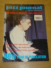 JAZZ JOURNAL INTERNATIONAL VOL 48 #4 1995 APRIL GENE DI NOVI PETE RUGOLO