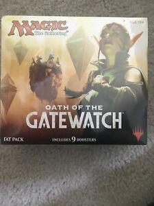 Oath of the Gatewatch Fat Pack, Magic the Gathering Sealed Full Art Lands MTG