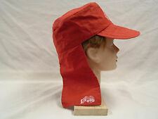 NOS Vintage Desert  Flap Hat ATC  Big Al's (Red ) (Small)