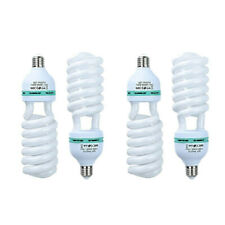 4pcs 150W 5500K 110V Energy Save Photography  Lighting Continuous CFL Bulb