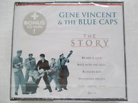Gene Vincent & The Blue Caps - The Story - CD plus bonus CD-Rom Neu & OVP