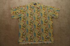 Ralph Lauren Polo Vintage Pull Over Shirt - Mens XXL All Over Print Western