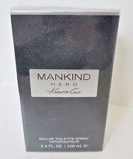 MANKIND HERO Kenneth Cole 3.4 3.3 oz 100 ml Men EDT Spray New In Box