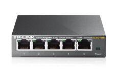 TP-Link TL-SG105E 5-Port Gigabit Easy Smart Configuration Desktop Metal Switch