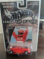 New listing Michael Schumacher Ferrari F1 Hot Wheels Hall Of Fame