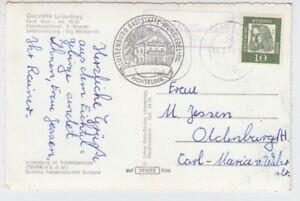 Landpoststempel   2441 Weißenhaus  1962