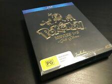 Final Week Pokemon Movies 1-3 & Pikachu Shorts Blu-ray Gold Edition Oop Rare