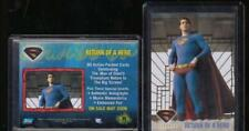 "2006 TOPPS ""SUPERMAN - RETURN of HERO"" PROMO TRADING CARD - V/GOOD CONDITION"