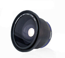 0.40X 58mm Wide Angle Fisheye for Canon EOS 600D 1000D 1100D 500D 400D 450D
